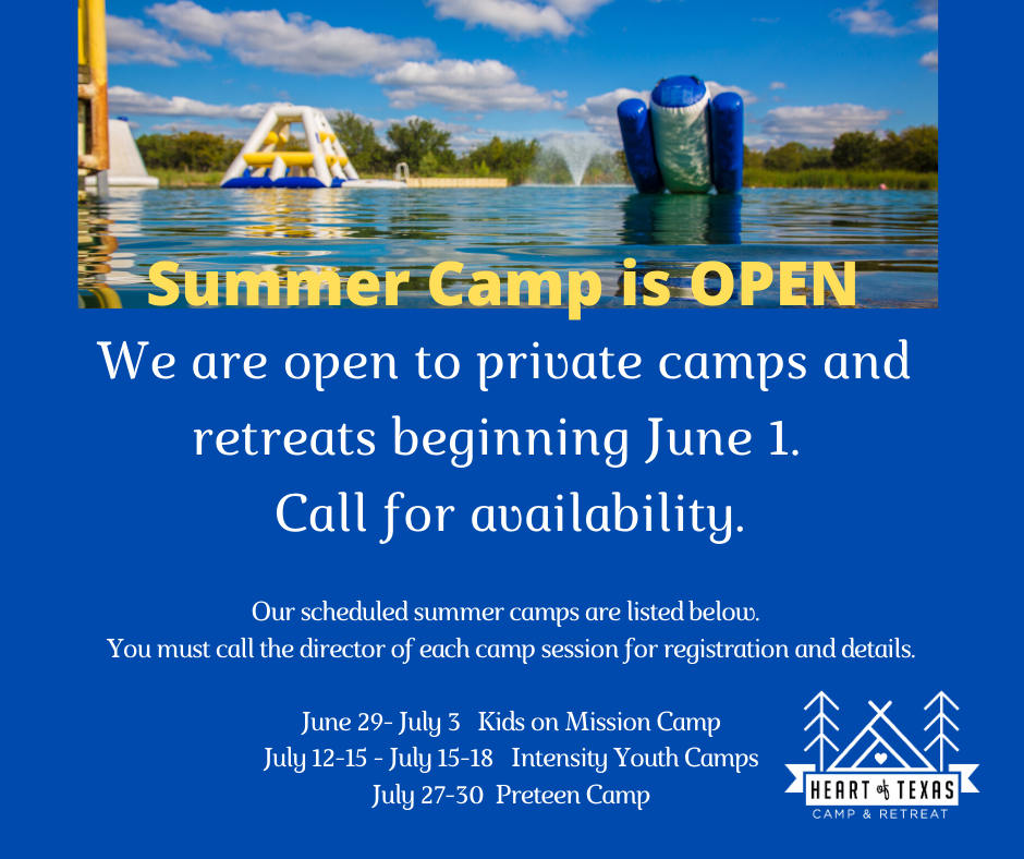 Summer Camp & Events