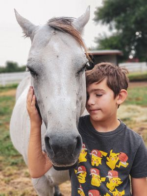 kids horseback riding lessons