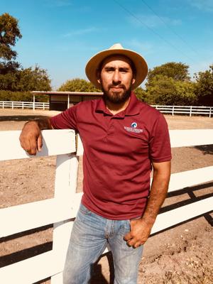 Daniel, Ranch Hand at White Fences Equestrian Center