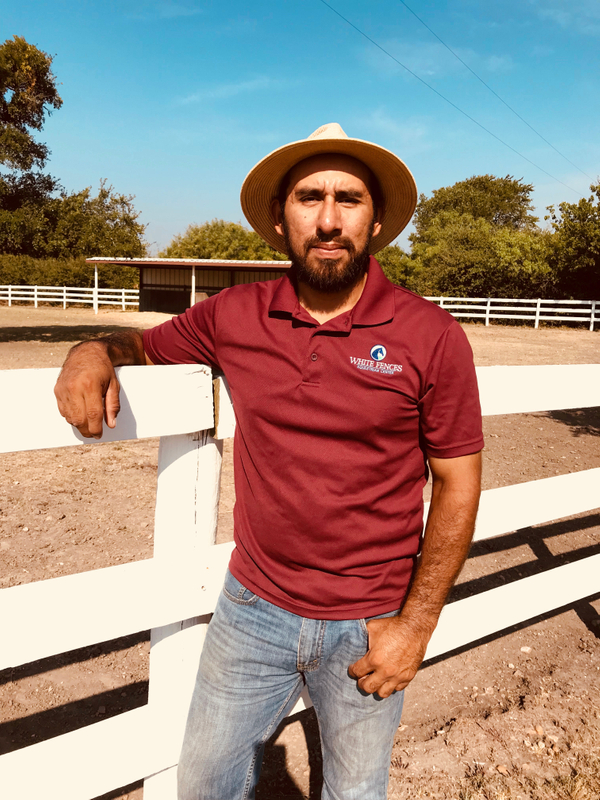 Daniel, Ranch Hand at White Fences Equestrian Center
