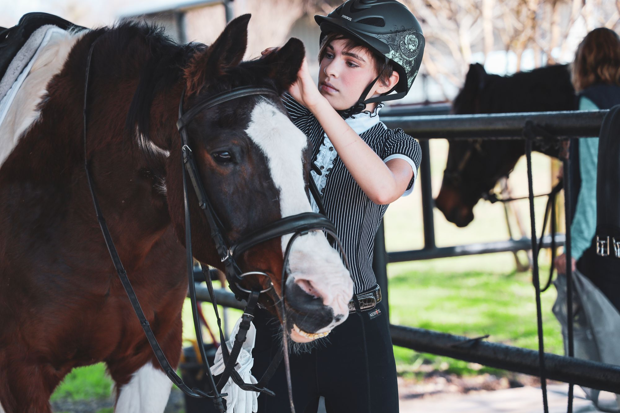 Dressage for young riders