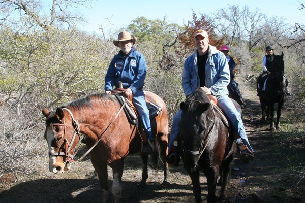 Horseback Trail Riding near Austin
