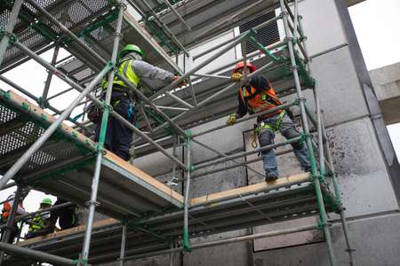 Cotton GDS commercial structural repair and reconstruction team