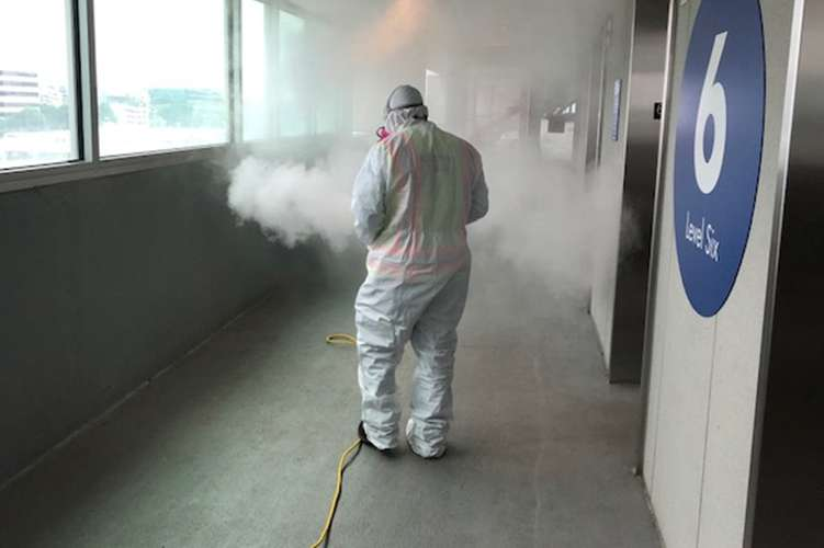 Cotton GDS commercial disaster solutions repairing fire damage in Conway, SC