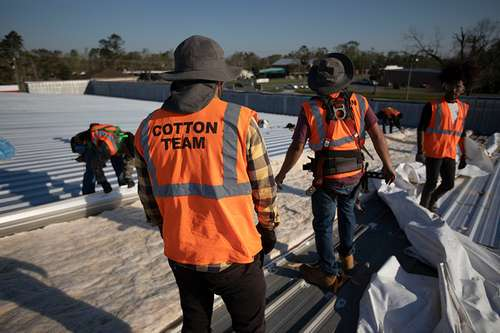 Cotton GDS commercial disaster solutions commercial roofing team