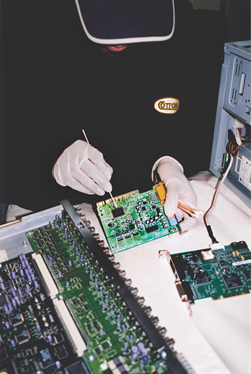 Cotton GDS conducting electronics restoration and data recovery