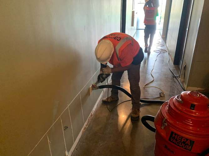 Cotton GDS restoring water damage in College Station, TX