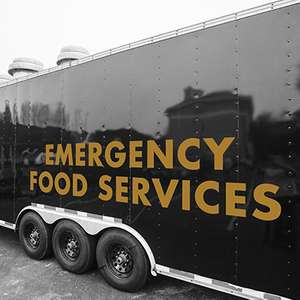 Cotton GDS culinary services trailer
