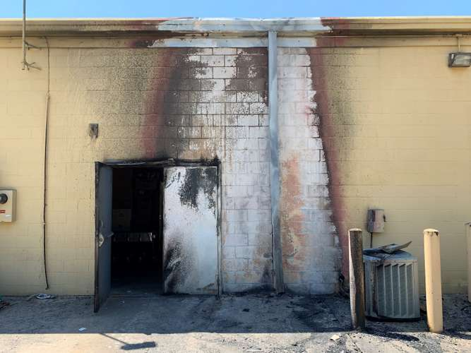 Cotton GDS repairing fire damage in College Station, TX