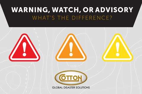 Warning, Watch, or Advisory?