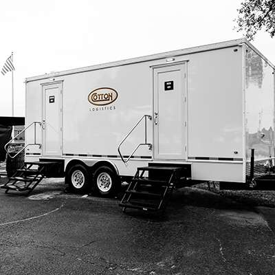 Cotton GDS logistical support trailer