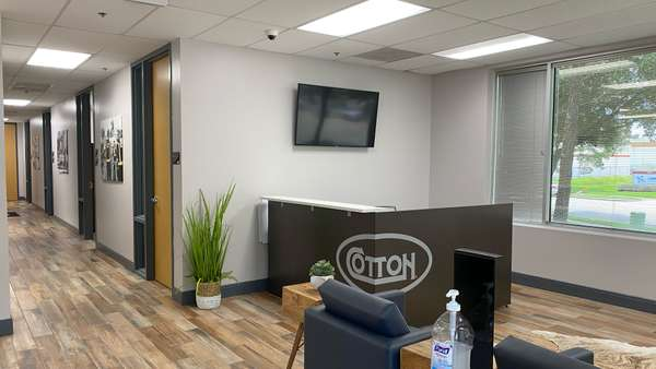 Cotton GDS commercial disaster solutions office interior in Houston, TX