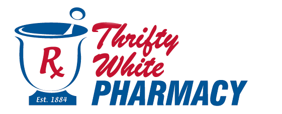 Thrifty White Logo