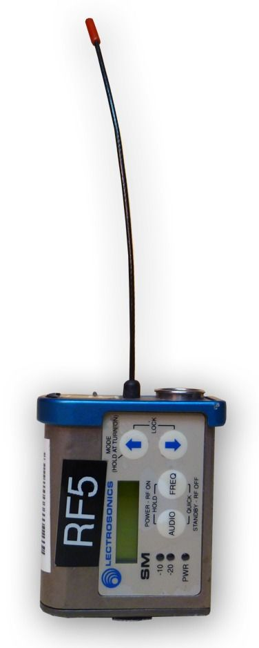 The Lectrosonics SMV Super Miniature Wireless Transmitter is at Hollywood Sound Systems.