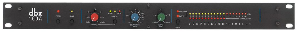 The DBX 160AD Compressor / Limiter is available at Hollywood Sound Systems.