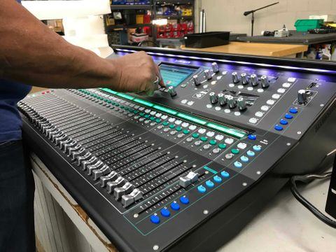The Allen & Heath SQ-7 is at Hollywood Sound Systems.