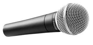 Shure SM-58 Dynamic Microphone at Hollywood Sound Systems