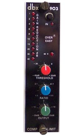 The DBX 903 Compressor is available at Hollywood Sound Systems.