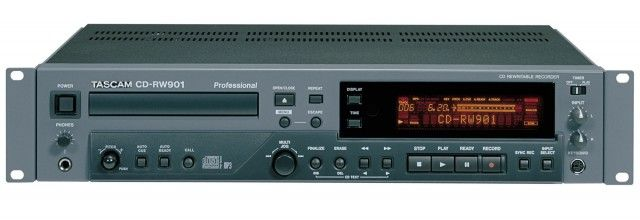 Tascam CDRW 901 CD Recorder at Hollywood Sound Systems