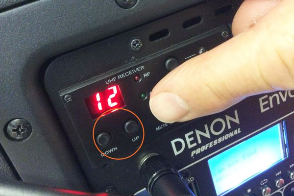 Denon Envoi Quick Start Guide Step 4