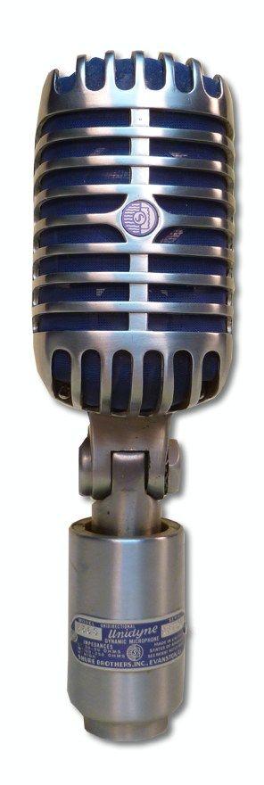 """Shure 55S """"Elvis"""" Microphone at Hollywood Sound Systems"""