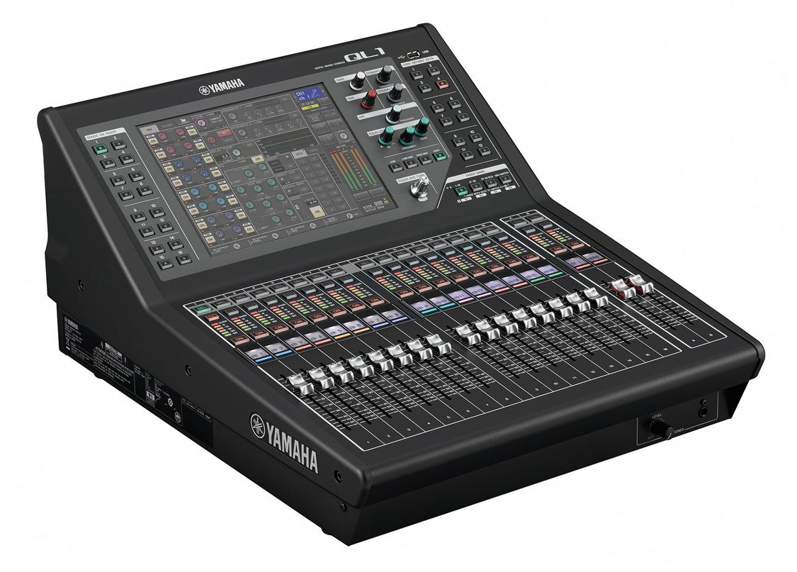 The Yamaha QL1 Digital Mixing Console at Hollywood Sound Systems