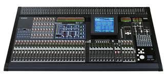 The Yamaha PM5D Digital Mixing Console at Hollywood Sound Systems