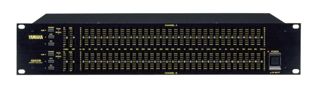 Yamaha Q2031B Graphic Equalizer at Hollywood Sound Systems