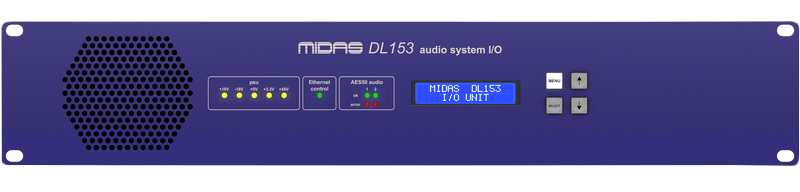 MIDAS DL153 Audio System I/O