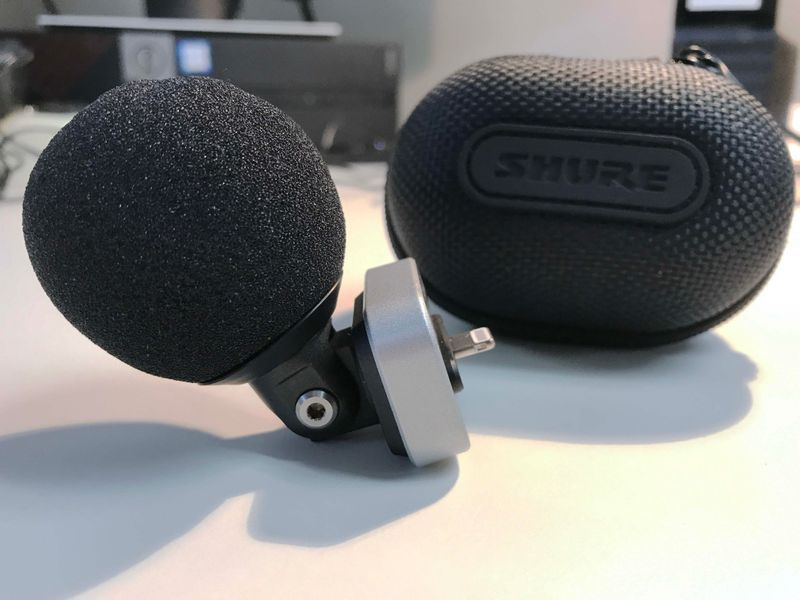 Shure's MOTIV™ MV88 iOS Digital Stereo Condenser Microphone is at Hollywood Sound Systems.