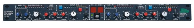 The BSS DPR402 2-Channel Compressor is available at Hollywood Sound Systems