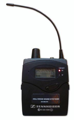Sennheiser EW 300 Receiver at Hollywood Sound Systems