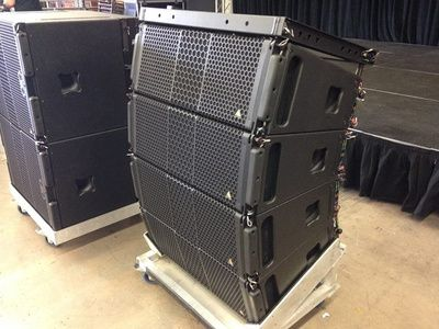 The Adamson S-Series Speakers at Hollywood Sound Systems