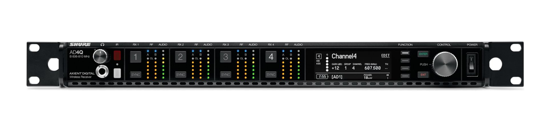 Shure Axient Digital AD4Q Receiver at Hollywood Sound Systems