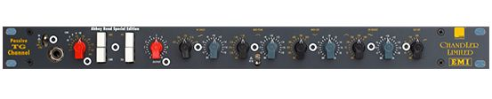 The Chandler Passive TG mic preamp is available at Hollywood Sound Systems.
