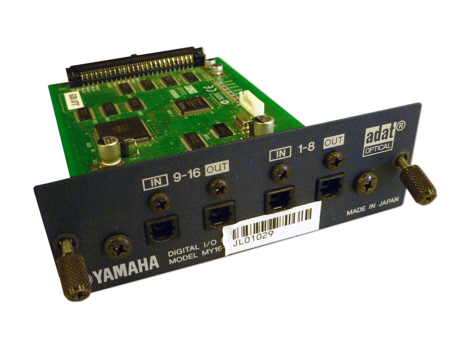 Yamaha Model MY16-AT 16-Channel ADAT I/O Card is available at Hollywood Sound Systems.