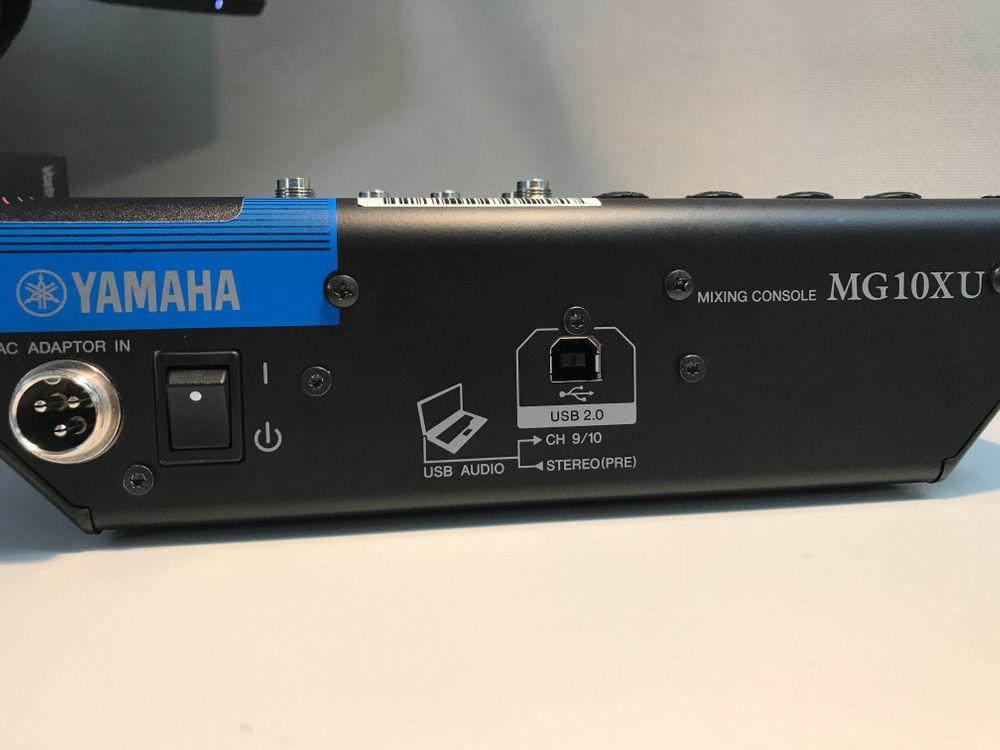 The Yamaha MG10XU Mixing Console is at Hollywood Sound.
