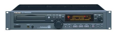 Tascam CDRW 2000 CD Rewritable Recorder at Hollywood Sound Systems