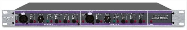 APHEX 107 Mic Preamplifier is available at Hollywood Sound Systems.