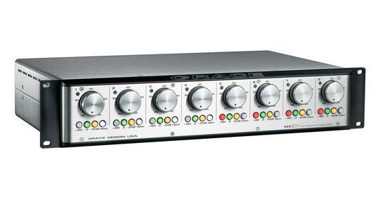GRACE LABS Model 801 mic preamplifier is available at Hollywood Sound Systems
