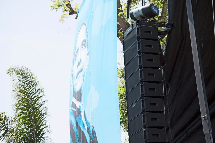 Hollywood Sound Systems & Bose ShowMatch at LA's Obama Blvd Renaming Celebration