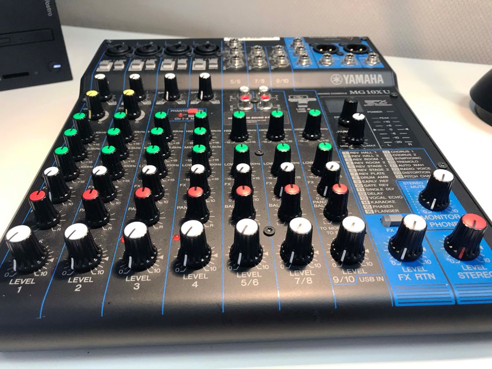 Yamaha's MG10XU Digital Mixer is at Hollywood Sound Systems.