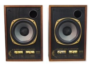 The Tannoy  SGM-10B Super Gold Reference Studio Monitor is at Hollywood Sound Systems.
