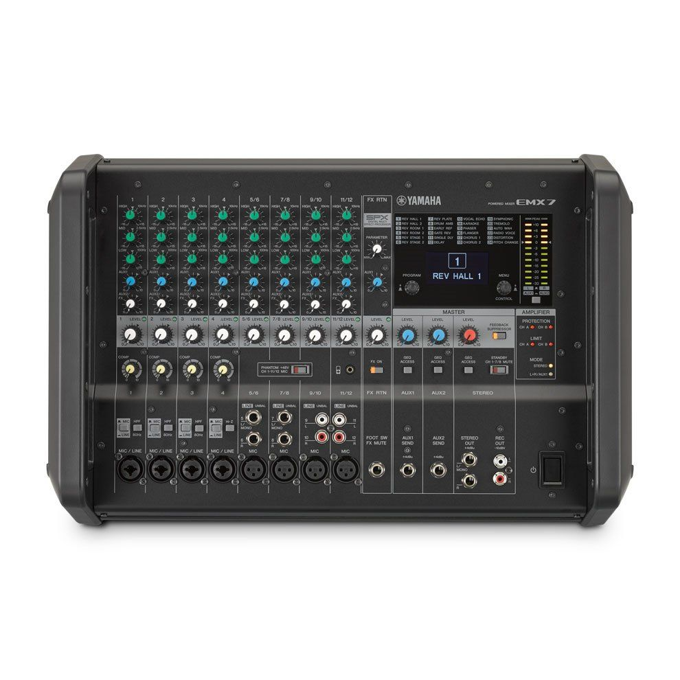 Yamaha EMX-7 Powered Mixer