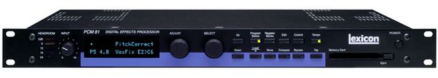 Lexicon PCM81 Multi-Effect Processor at Hollywood Sound Systems