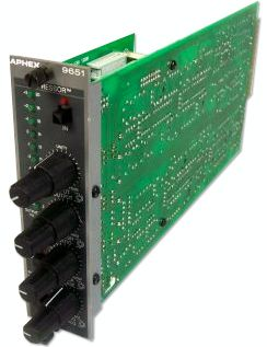 The Aphex Expressor 9651 is at Hollywood Sound Systems.d