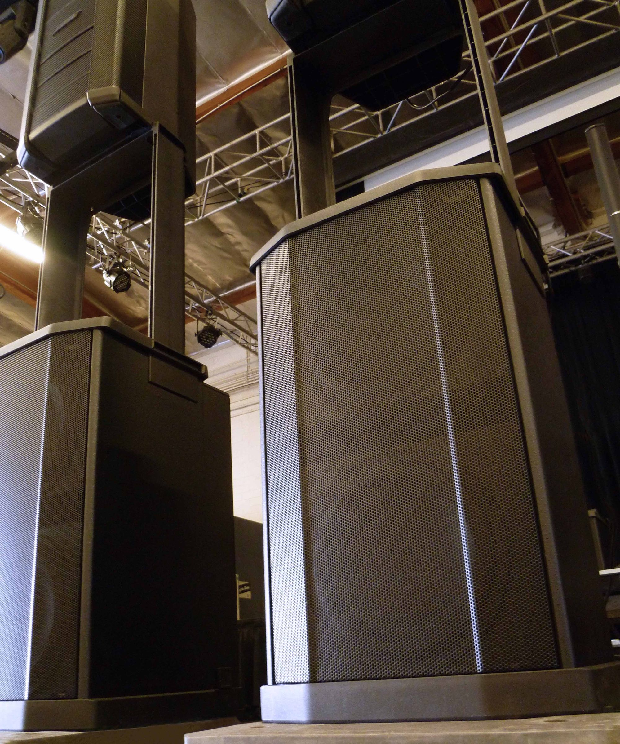 The Bose F1 Subwoofer at Hollywood Sound Systems.