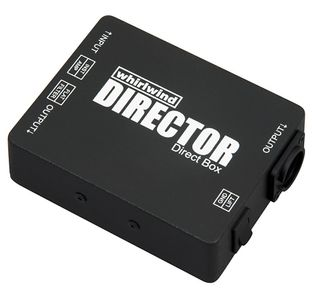 The Whirlwind Director passive direct box is available at Hollywood Sound Systems.