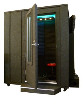 The Whispe Room™ Soundproof Booth is available at Hollywood Sound Systems