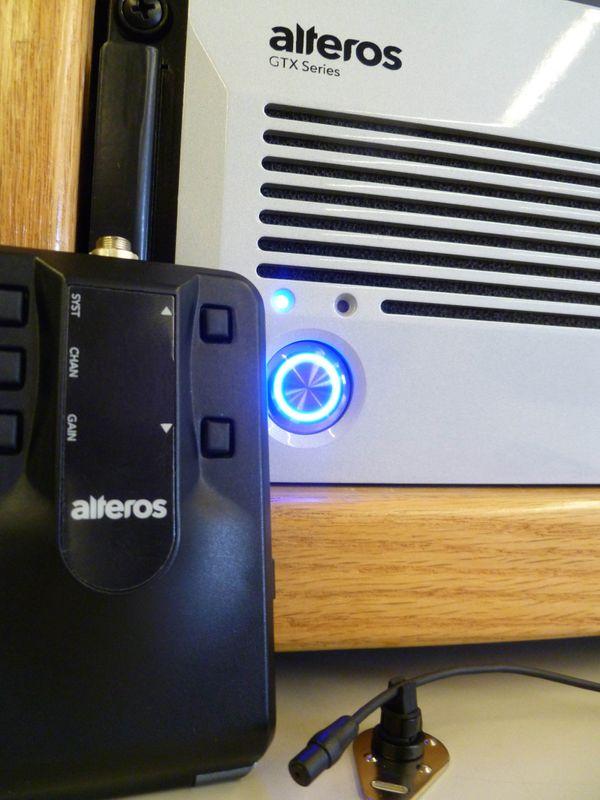 The Alteros GTX Series Wireless Microphone System